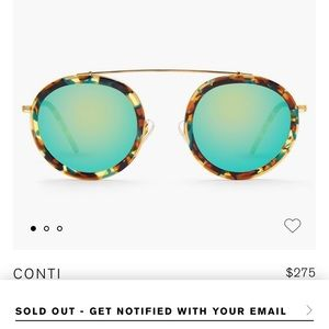 Krewe Conti Mambo 24k Sunglasses (SOLD OUT)